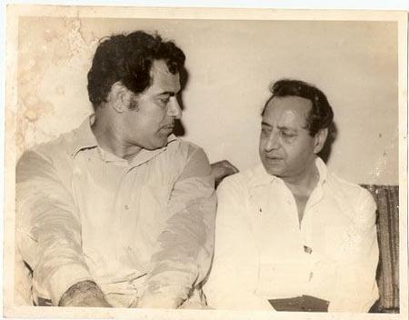 Dara Singh and Pran