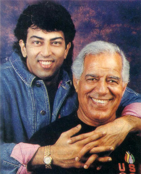 Dara Singh with son Vindoo