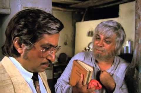 Kader Khan and Shakti Kapoor in Jaisi Karni Waisi Bharni