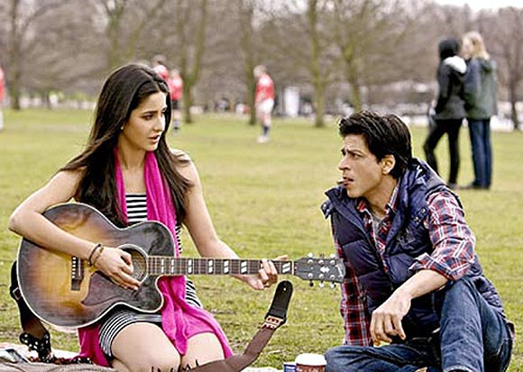 Katrina Kaif and Shah Rukh Khan in the untitled Yash Raj film