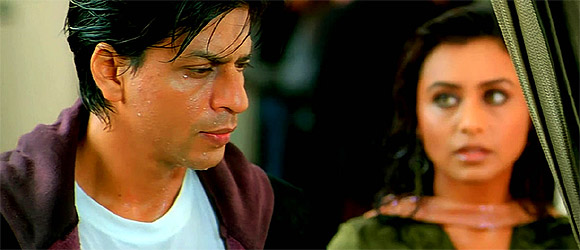 Rani Mukerji and Shah Rukh Khan in Kabhi Alvida Naa Kehna