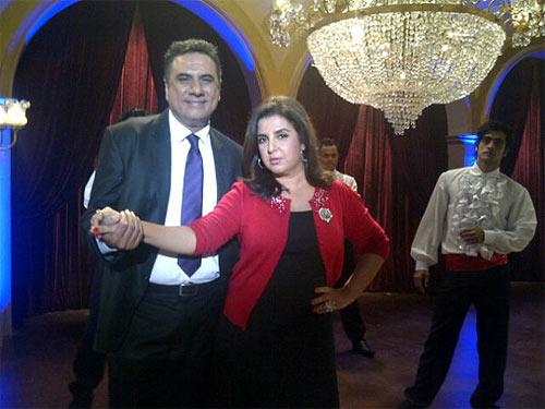 Boman Irani and Farah Khan