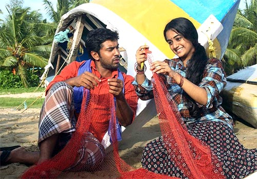 Nivin Pauly and Namitha Pramod