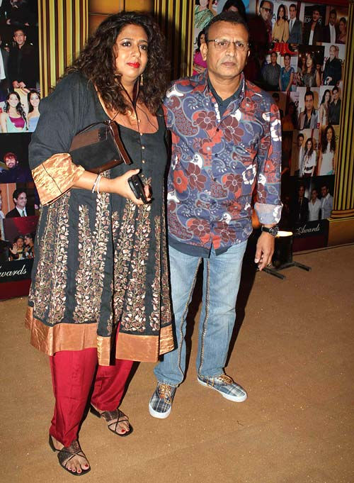 Annu Kapoor and wife