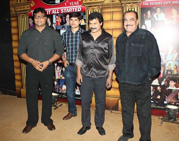 Dayanand Shetty, Abhay Shukla, Dinesh Phadnis and Shivaji Satam.