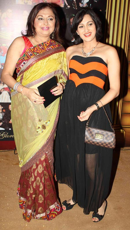 Anita Kanwal and daughter Pooja