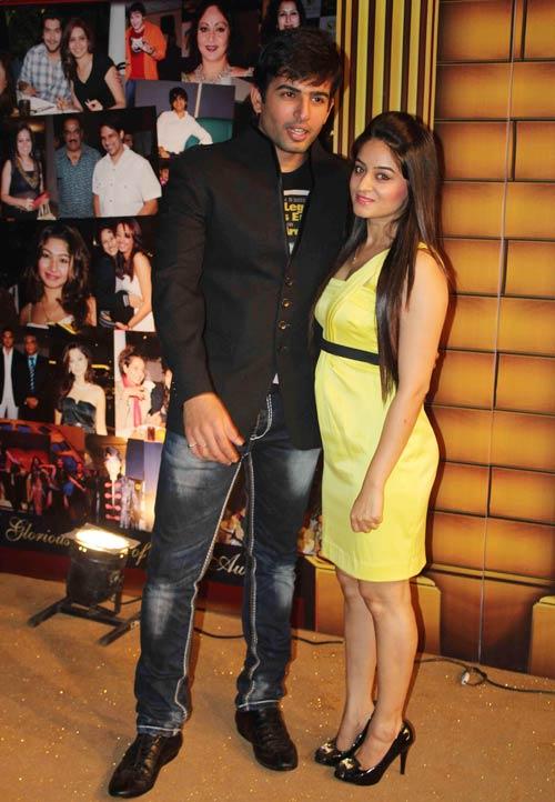 Jay Bhanushali and Mahi Vij