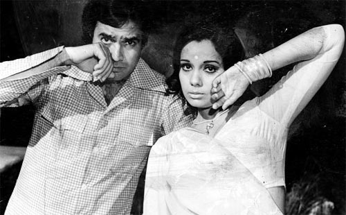 Rajesh Khanna and Mumtaz in Aap Ki Kasam