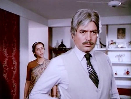 Shabana Azmi and Rajesh Khanna in Avtaar