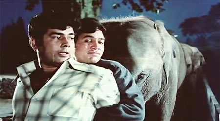 A scene from Haathi Mere Saathi