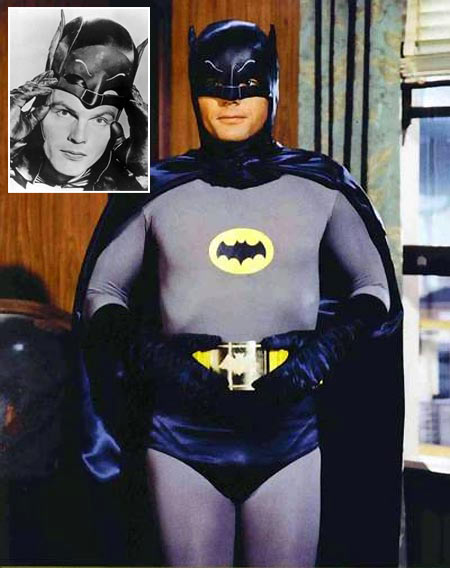 Adam West as Batman in Batman: The Movie