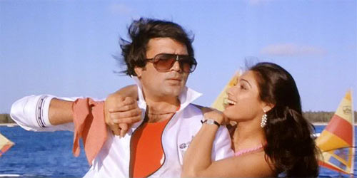 Rajesh Khanna and Tina Munim in Souten