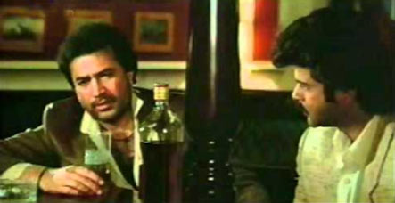 Rajesh Khanna and Anil Kapoor in Vijay
