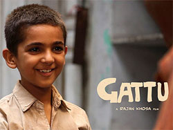 Movie poster of Gattu