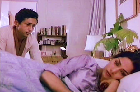 Naseeruddin Shah with Shabana Azmi in Masoom