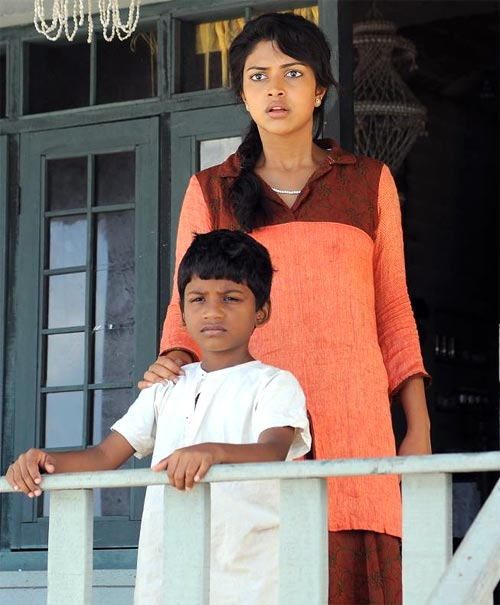 A scene from Aakashathinte Niram