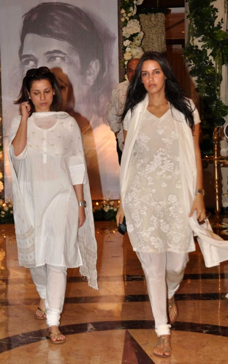 Neelam and Neha Dhupia