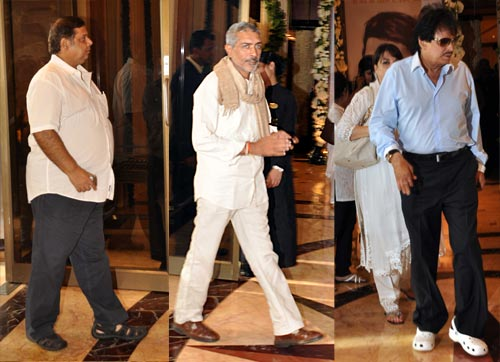 David Dhavan, Prakash Jha and Sanjay Khan