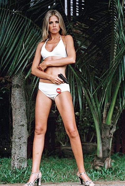 Britt Ekland in The Man With The Golden Gun