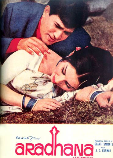 Movie poster of Aradhana