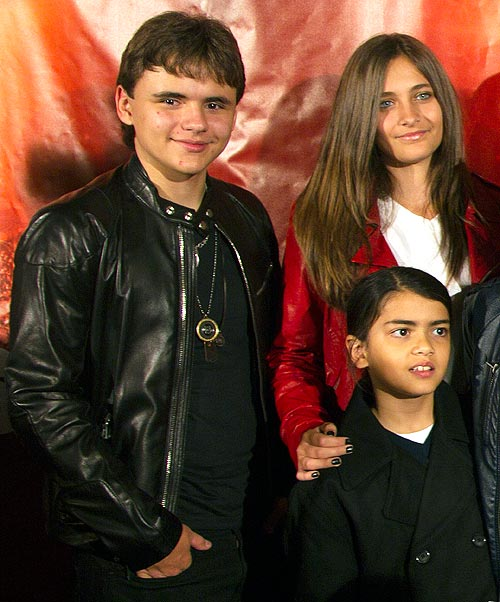 Prince Michael, Paris and Blanket