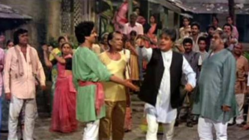 A scene from Mazdoor