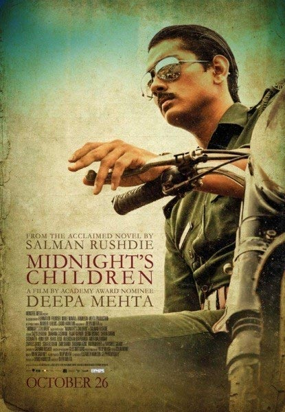 Movie poster of Midnight Children