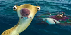 A scene from Ice Age 4