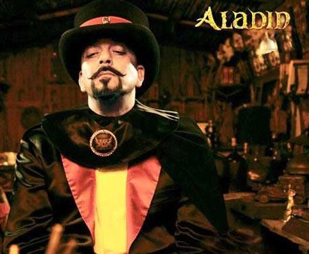Sanjay Dutt in Aladin