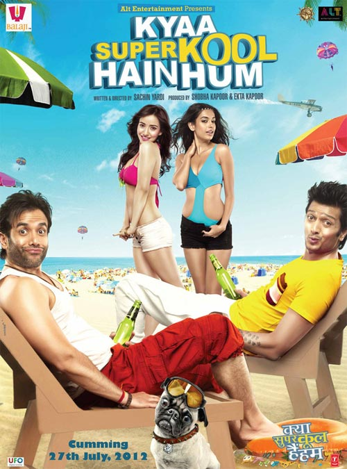 Movie poster of Kyaa Super Kool Hain Hum