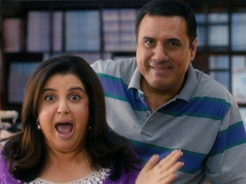 Farah Khan and Boman Irani in Shirin Farhad Ki Toh Nikal Padi
