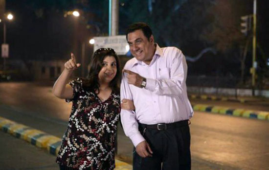 Farah Khan and Boman Irani in Shirin Farhad Ki Toh Nihal Padi