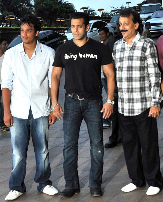 Salman Khan and Baba Siddiqui