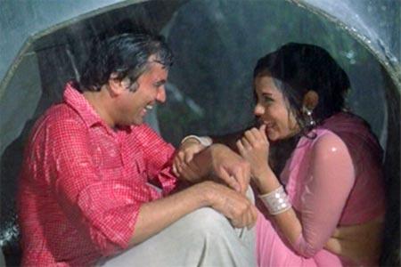 Mumtaz with Rajesh Khanna in Prem Kahani