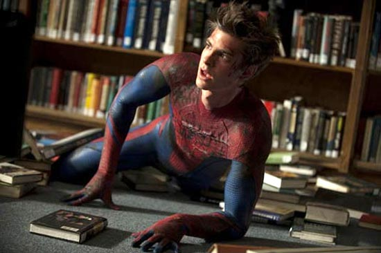 A scene from The Amazing Spiderman
