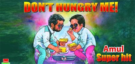 Amul's Rowdy Rathore poster