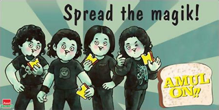 Amul's Rock On!! poster