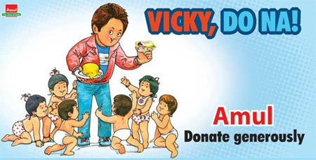 Amul's Vicky Donor poster