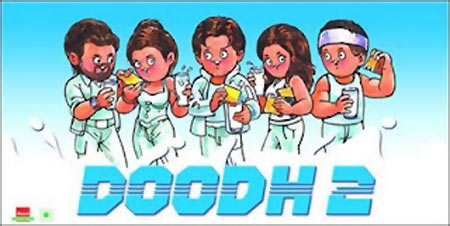 Amul's Dhoom 2 poster