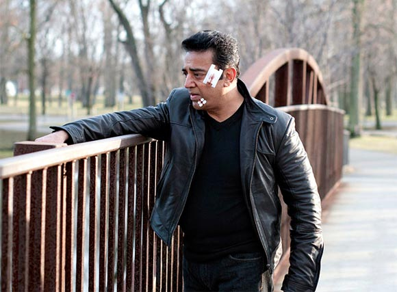 Actor Kamal Haasan in a still from Vishwaroopam