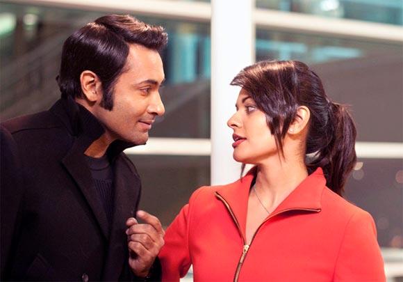 Samrat Chakrabarti with Pooja Kumar