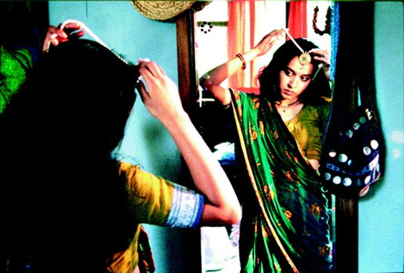 A scene from Monsoon Wedding