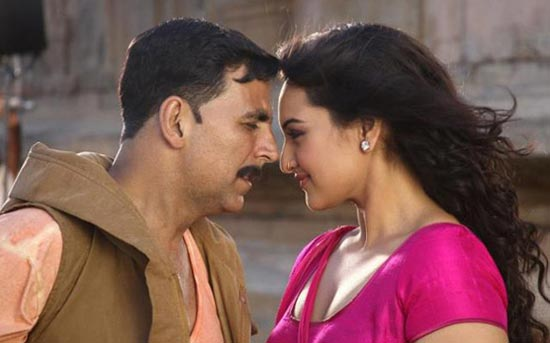 A scene from Rowdy Rathore