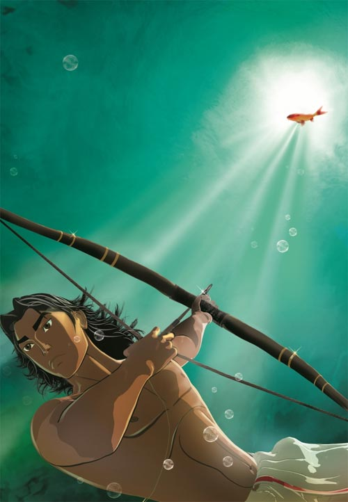 A scene from Arjun: The Warrior Prince