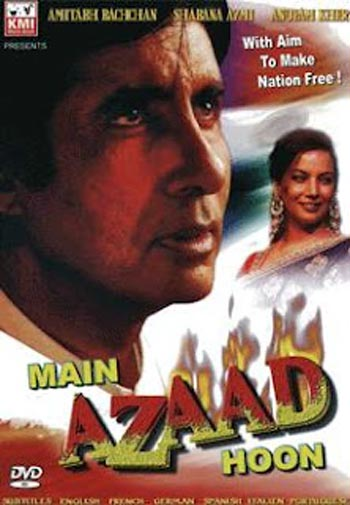 Movie poster of Main Azaad Hoon