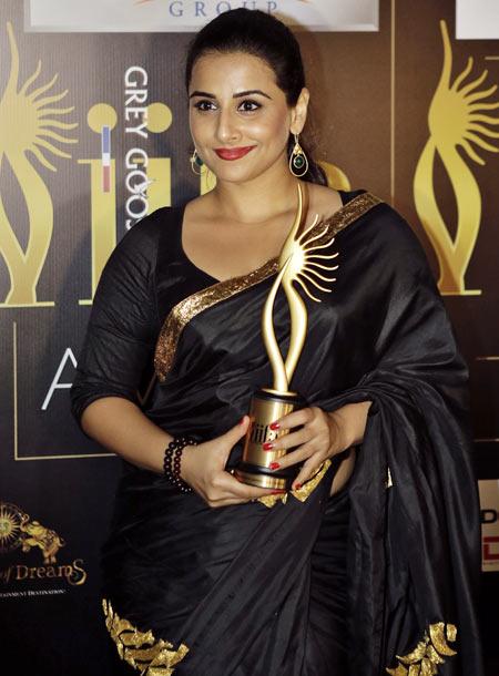 Vidya Balan at IIFA 2012