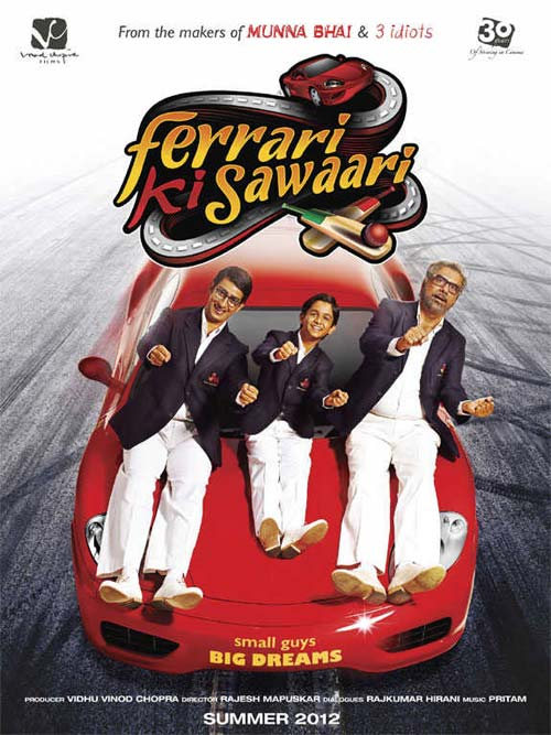 Movie poster of Ferrari Ki Sawaari