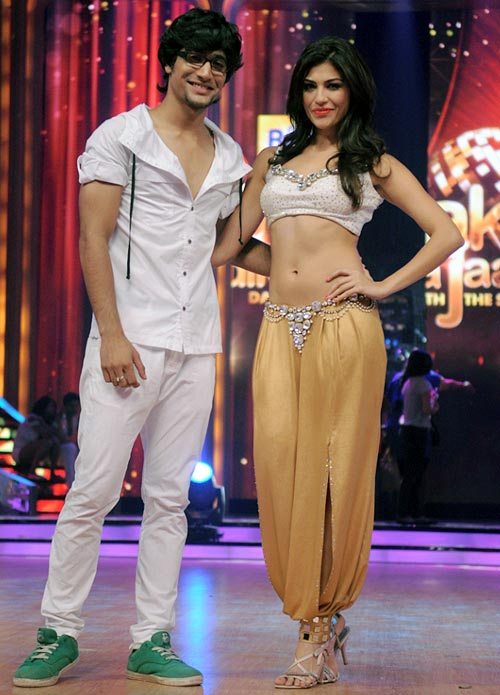 Archana Vijay with choreographer Sanam Johar