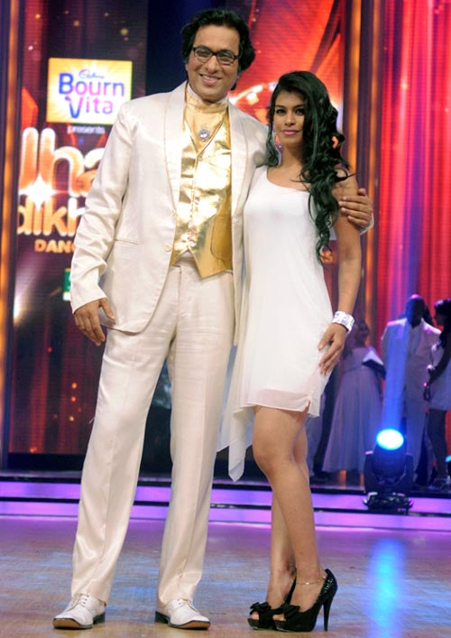 Talat Aziz with choreographer Ankita