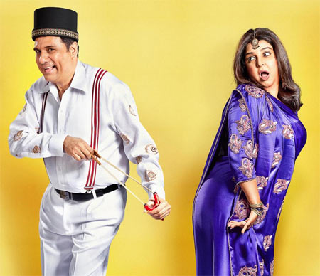 Boman Irani and Farah Khan in Shirin Farhad Ki Toh Nikal Padi